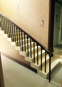 Stone staircase, stone stairs, cantilevered stone staircase, cantilevered stone stairs: