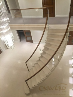 Stone staircases,stone stairs,cantilevered stone staircase;