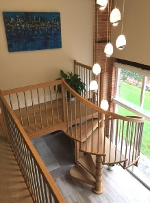 Oak spiral stairs,oak stairs,oak staircases,oak spiral stairs: