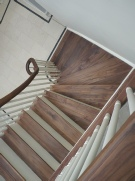 Walnut staircases, Walnut stairs, Helical staircases, helical stairs: