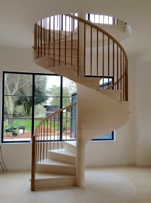 Spiral Stairs, spiral staircases, stone spiral staircases, oak spiral staircases, walnut spiral staircases: