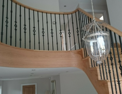 Helical Staircases, helical stairs, Oak helical staircase, oak helical stairs: