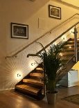 Oak and Glass staircases, Oak and Glass stairs, Oak and Glass staircase Manchester: