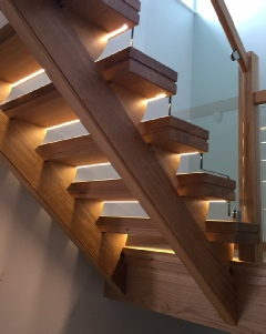 Glass Staircase,Oak and glass staircase,Glass Stairs,Oak and glass stairs,Glass Staircases: